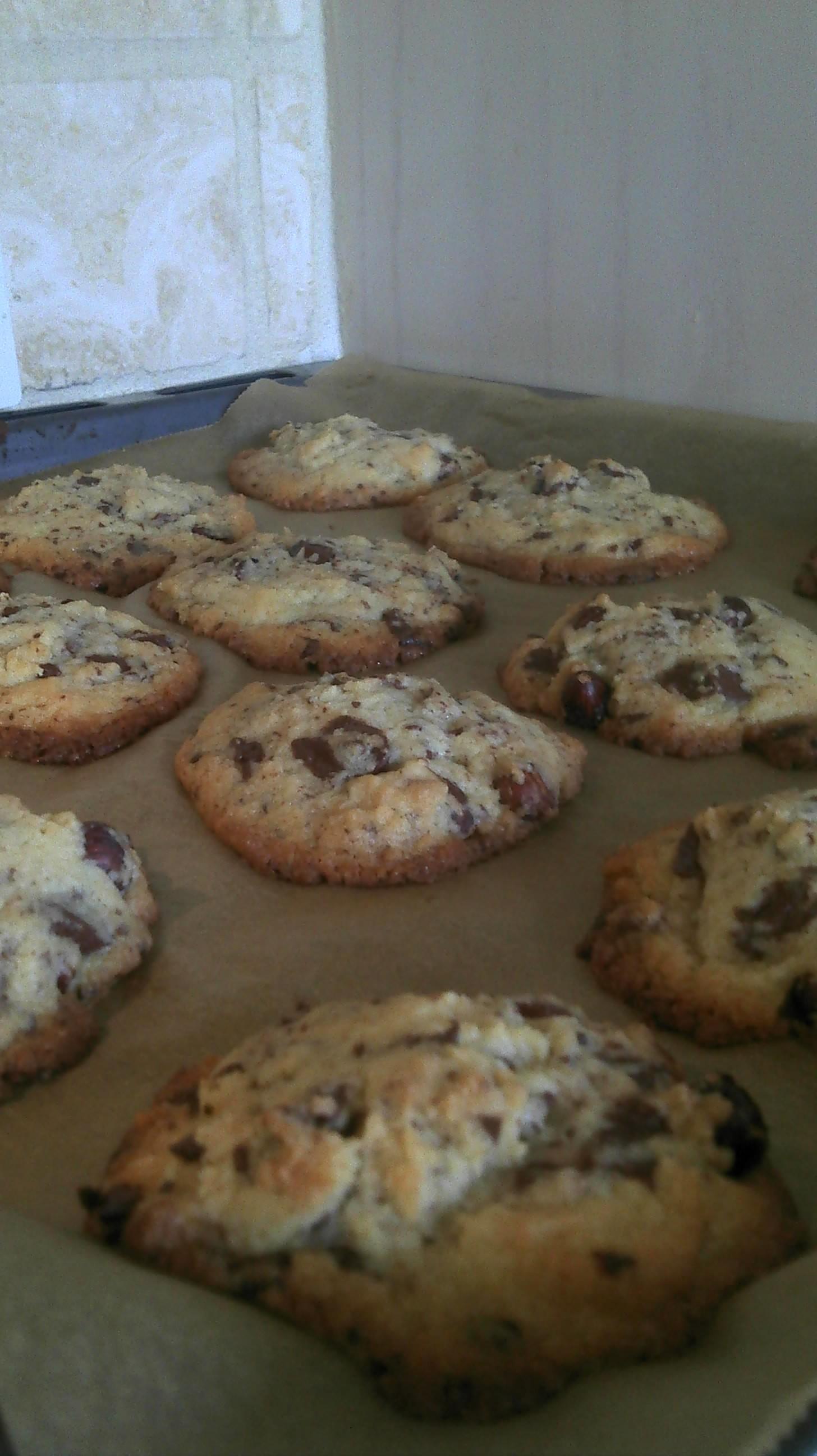 Amerikanske chunck cookies